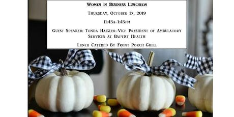 Women in Business Luncheon tickets