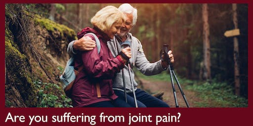 Swing when you are winning... joint care talks for golfers.