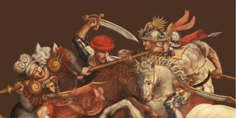 """""""Gli Uomini d'Arme del XV secolo"""" conferenza a cura di Leo Donnarumma biglietti"""