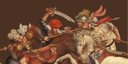 """""""Gli Uomini d'Arme del XV secolo"""" conferenza a cura di Leo Donnarumma"""