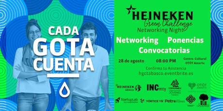 Heineken Green Challenge Networking Night Tabasco entradas