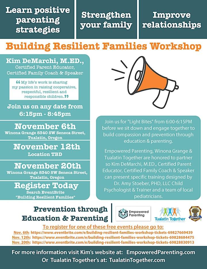 Building Resilient Families Workshop image