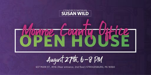 Open House for Rep. Wild's Monroe County Office