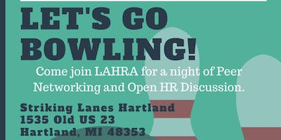 Let's Go Bowling: Peer Networking & Open Discussion