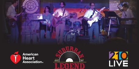 Suburban Legend - 4th Annual Concert to Benefit American Heart Association tickets