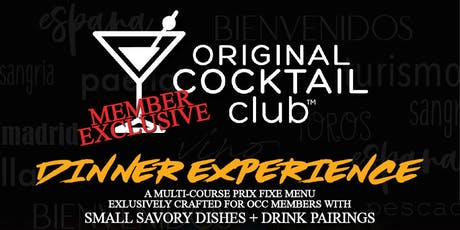 OCC Dinner Experience @ EDO Tapas tickets