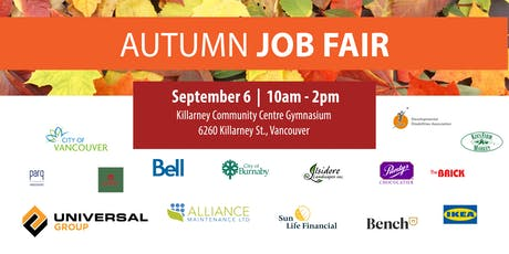 Autumn Job Fair tickets