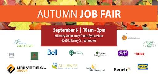 Autumn Job Fair