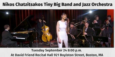 Nikos Chatzitsakos Tiny Big Band and Jazz Orchestra tickets