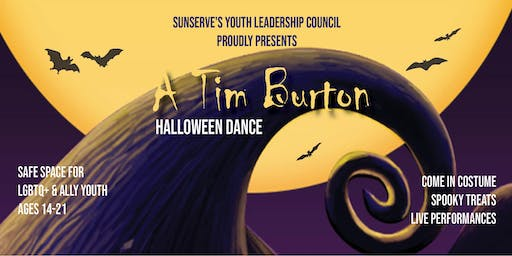 SunServe: A Tim Burton Youth Halloween Dance