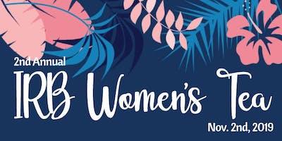 2nd Annual IRB Women's Tea