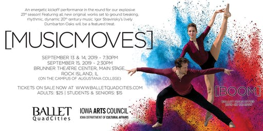 Ballet Quad Cities presents MusicMoves