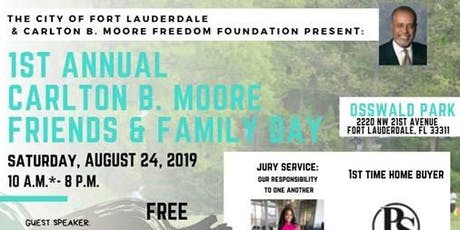 TRIO Mobile Unit: 1st Annual Carlton B. Moore Friends & Family Day tickets