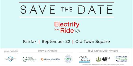Electrify Your Ride VA: Fairfax