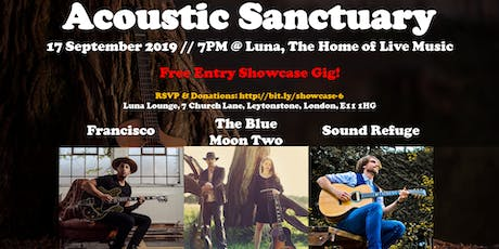 Showcase #6: The Blue Moon Two //  Sound Refuge // Francisco tickets
