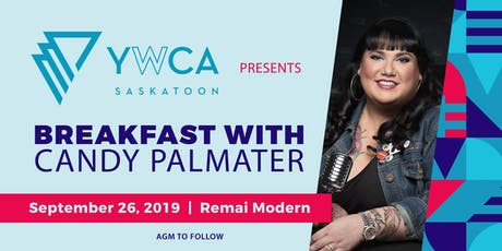 YWCA presents Candy Palmater tickets