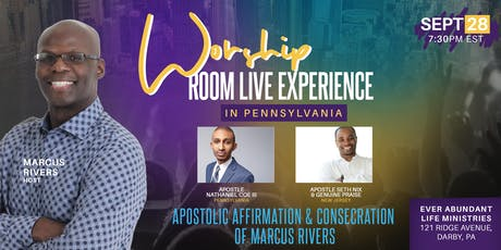 Worship Room Live Experience in Pennsylvania tickets