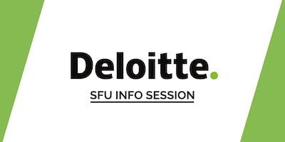 SFU Deloitte Info Session