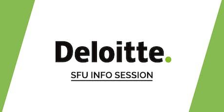 SFU Deloitte Info Session tickets