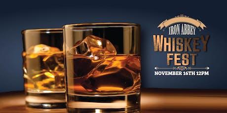 Iron Abbey Whiskey Fest tickets
