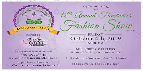 Measured To Fit's 12th Fundraiser Fashion Show tickets