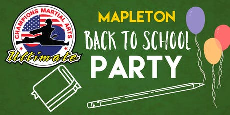 CMA Mapleton Back To School Party tickets