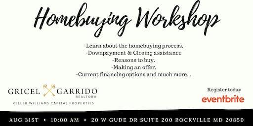 2019 Homeownership Workshop- Aug 31st