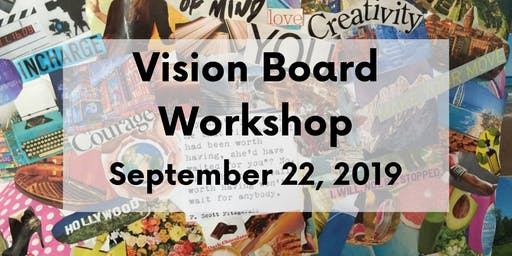 New Moon Vision Board Workshop