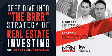 Deep Dive Into The BRRR Strategy Of Real Estate Investing tickets