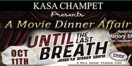 KASA MOVIE DINNER tickets