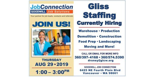 Hiring Event - Vancouver - 8/29/19
