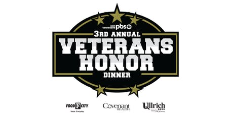 East Tennessee PBS 3rd Annual Veterans Honor Dinner tickets