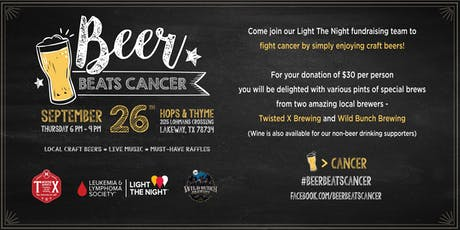 #BeerBeatsCancer #2 tickets