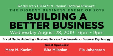 Build a Better Business - Network, Learn, Grow! tickets