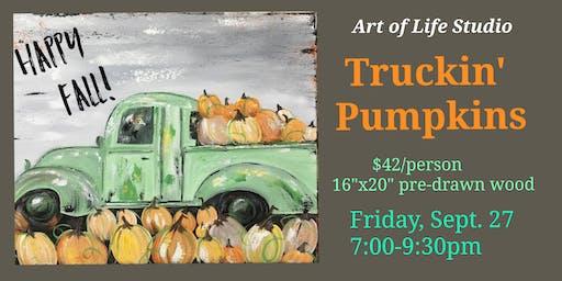 Truckin' Pumpkins