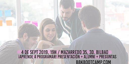 INFO DAY 5ªedición BBK Bootcamp: ¡Aprende a programar!