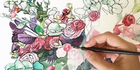 Watercolour Wreath Workshop tickets