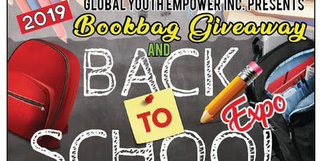 2019 Bookbag Giveaway & Back-to-School EXPO  tickets