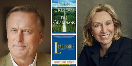 John Grisham and Doris Kearns Goodwin at Back Bay Events Center tickets