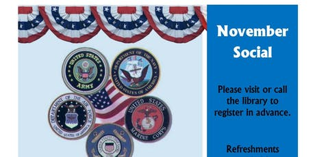 11th Annual Veterans' Coffee Social tickets