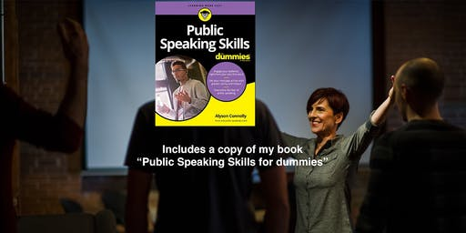 Powerful (But Painless) Public Speaking Workshop - Maximum 10 People