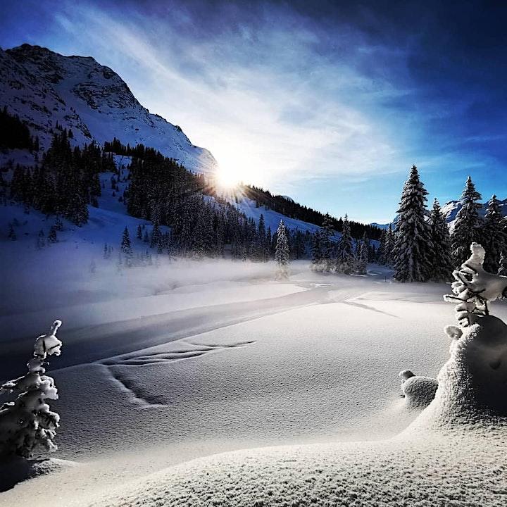 Yoga. Meditation. Winterzauber. Seelen-Nahrung. Detox.  Arlberg/Österreich: Bild