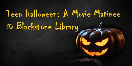 Teen Halloween Movie Showing