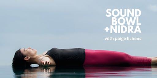 Sound Bath + Nidra