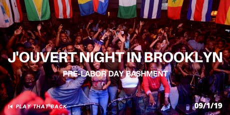 J'OUVERT NIGHT IN BROOKLYN tickets