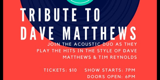 Dave Matthews Tribute Night