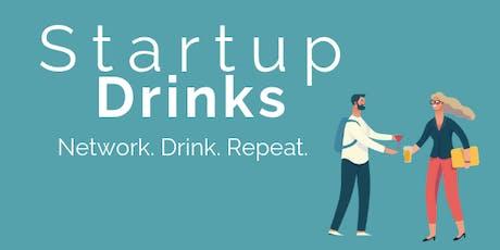 Startup Drinks tickets