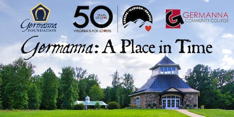 Germanna: A Place in Time tickets