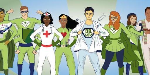 Phelps Superheroes Nyack Halloween Parade