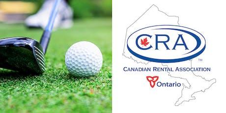Canadian Rental Association - Ontario Golf Tournament tickets